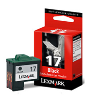 Lexmark No 17 Black Ink Cartridge