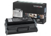 Lexmark 12A7405 High Capacity Return Program Toner Cartridge, 6K Yield