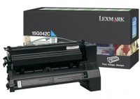 Lexmark 0015G042C High Capacity Return Program Cyan Laser Toner Cartridge