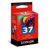 Lexmark 37 Colour Ink Cartridge - 018C2140E