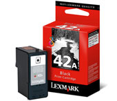 Lexmark 42A Black Ink Cartridge - 018Y0342E