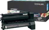 Lexmark C7220K Extra High Capacity Return Program Black Toner Cartridge
