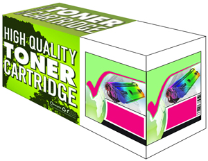 Compatible (128A) Magenta Toner Cartridge for HP CE323A - 1.3K Page Yield