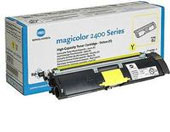 Konica Minolta MagiColor QMS Standard Capacity Yellow Laser Cartridge