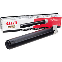 Oki Black Laser Toner Cartridge, 3.5K Yield