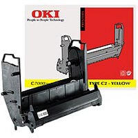 Oki Yellow Image Drum Unit, 30K Yield