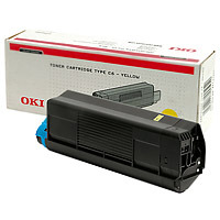 Oki Yellow Laser Toner Cartridge (4513)