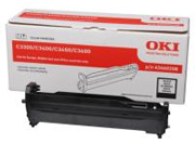 Oki Black Imaging Drum Unit, 15K Yield