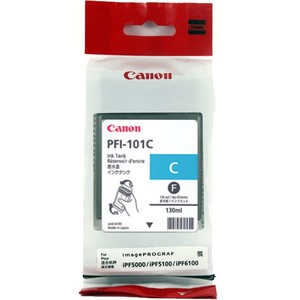 Canon PFI 101C Cyan Ink Cartridge