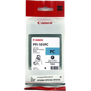 Canon PFI 101PC Photo Cyan Ink Cartridge