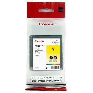 Canon PFI 101Y Yellow Ink Cartridge
