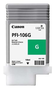 Canon PFI 106G Green Ink Cartridge, 130ml