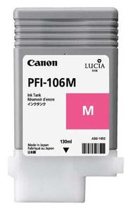 Canon PFI 106M Magenta Ink Cartridge, 130ml