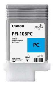 Canon PFI 106PC Photo Cyan Ink Cartridge, 130ml