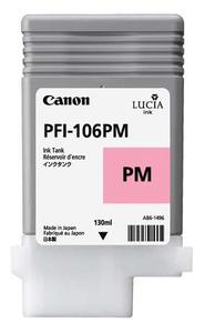 Canon PFI 106PM Photo Magenta Ink Cartridge, 130ml
