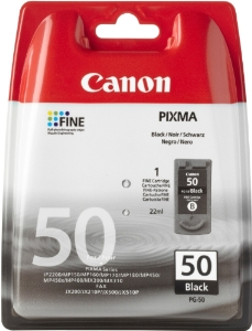 Canon PG-50 High Capacity Black Ink Cartridge ( 50BK )