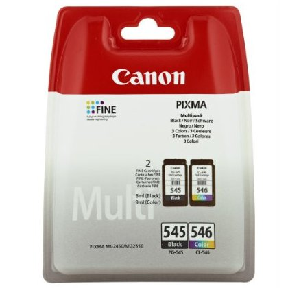 Canon PG-545 / CL-546 Multipack Ink Cartridges