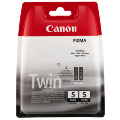 Canon PGI 5BK Twin Black Ink Cartridges ( 5BK Twin )