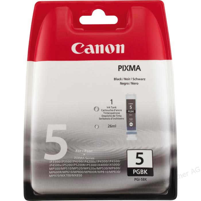 Canon PGI-5BK Black Ink Cartridge ( 5BK )