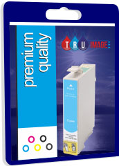 Premium Quality Compatible T0802 Cyan Ink Cartridge, 19ml