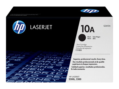 HP Q2610A Laser Toner Cartridge - (10A)