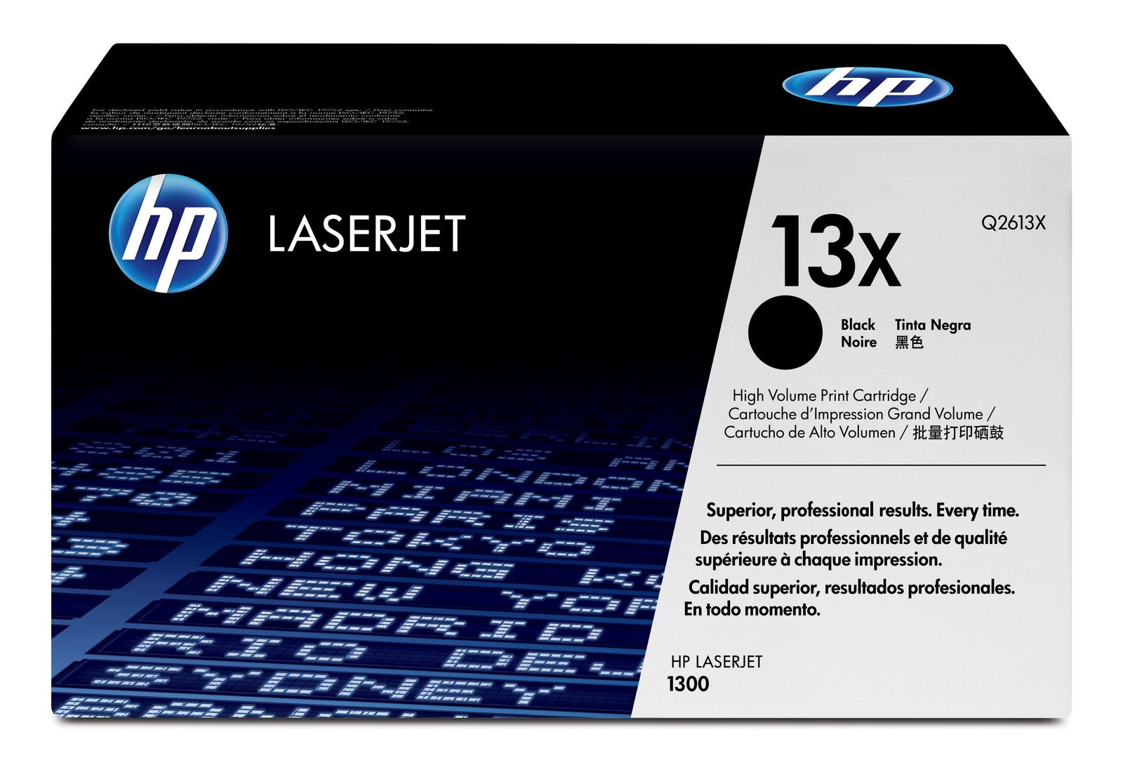 HP Original Q2613X High Capacity Laser Toner Cartridge - (13X)