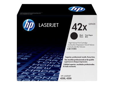 HP 42X High Capacity Laser Toner Cartridge - Q5942X