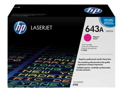 HP Q5953A Magenta Laser Toner Cartridge (643A)