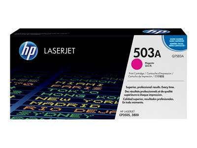HP 503A Magenta Toner Cartridge - Q7583A
