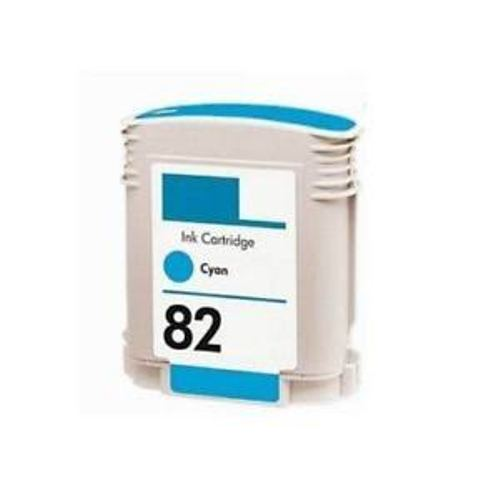 Replacement High Capacity Cyan Ink Cartridge (Alternative to HP No 82, C4911A)