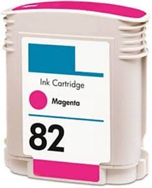 Replacement High Capacity Magenta Ink Cartridge (Alternative to HP No 82, C4912A)