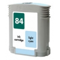 Replacement High Capacity Light Cyan Ink Cartridge (Alternative to HP No 84, C5017A)
