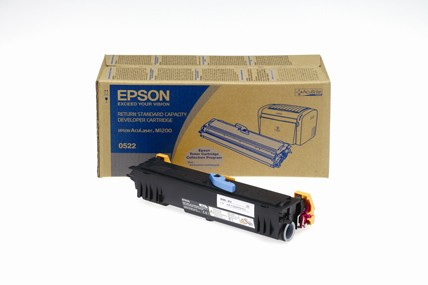 Epson C13S050522 Return Program Standard Capacity Toner Cartridge, 1.8K