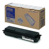 Epson High Capacity Return Program C13S050584 Black Toner Cartridge, 8K Page Yield