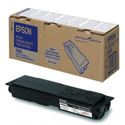 Epson Standard Capacity Return Program C13S050585 Black Toner Cartridge, 3K Page Yield