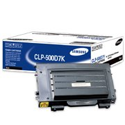 Samsung CLP 500D7K Black Laser Toner Cartridge