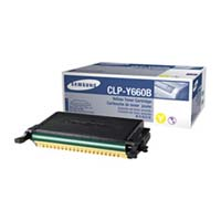Samsung CLP Y660B High Capacity Yellow Laser Toner Cartridge