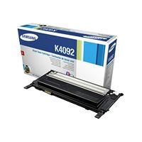 Samsung CLT K4092S Black Laser Toner Cartridge, 1.5K Page Yield