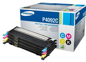 Samsung CLT P4092C Quad Pack, CMYK Toner Cartridges