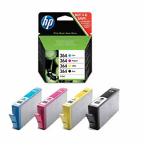 HP SD534EE Combo Pack Ink Cartridges - Black, Cyan, Magenta, Yellow (Standard Capacity)
