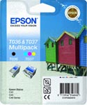 Epson Twin Pack Black & Color Ink Cartridges
