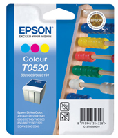 Epson T0520 Tri Colour Ink Cartridge for S020089 & S020191