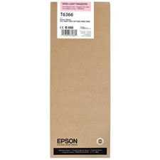 Epson T6366 Vivid Light Magenta Ink Cartridge C13T636600, 700ml
