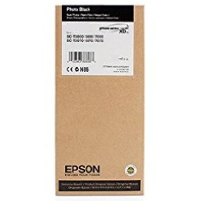 Epson T6921 UltraChrome XD Photo Black Ink Cartridge - 110ml