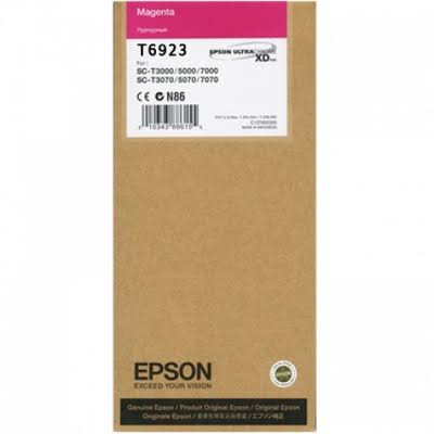 Epson T6923 UltraChrome XD Magenta Ink Cartridge - 110ml