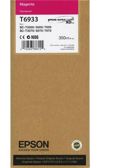 Epson T6933 UltraChrome XD Magenta Ink Cartridge - 350ml