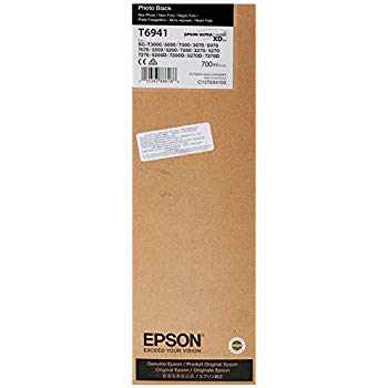 Epson T6941 UltraChrome XD Photo Black Ink Cartridge - 700ml