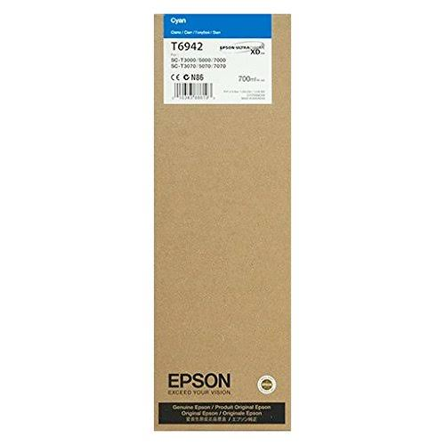 Epson T6942 UltraChrome XD Cyan Ink Cartridge - 700ml