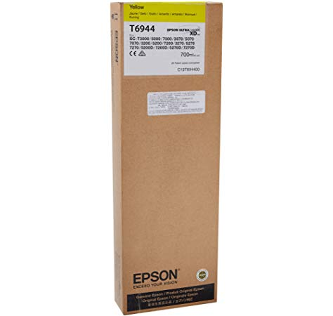 Epson T6945 UltraChrome XD Matte Black Ink Cartridge - 700ml