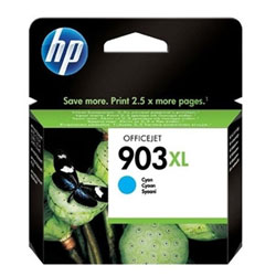 High Capacity Cyan HP 903XL Ink Cartridge - T6M03A